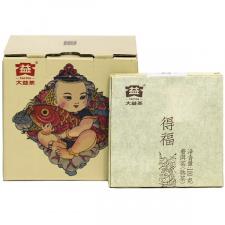 Ripe Pu-Erh (Menghai Classic: DEFU FANG ZHUANG / 2016 m.) arbata (100 g.)