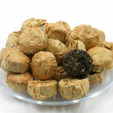 Raw Pu-Erh (su LIPNIAIS RYŽIAIS / 2015 m.) arbata (30/50/100 g.)