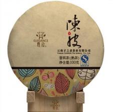 Ripe Pu-Erh (su APELSINO ŽIEVELE / 2014 m.) arbata (100 g.)
