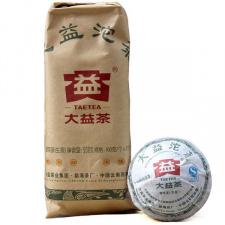 Raw Pu-Erh (Menghai Classic: DAYI / 2012 m.) arbata (100 g.)