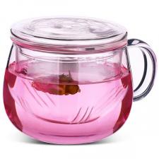 Stiklinis puodelis su sieteliu (320 ml.)
