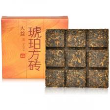 Ripe Pu-Erh (Menghai Classic: AMBER SQUARE / 2013 m.) arbata (60 g.)