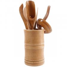 Bambukinis arbatos įrankių rinkinys (1 rin.)