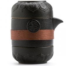 Keramikinis Gaivanis ir 2 pialos (170 ml)