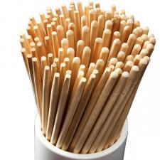 Bambukinės valgymo lazdelės (100 porų)