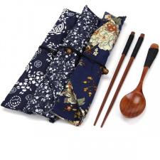 Bambukinis stalo įrankių rinkinys (1 vnt.)