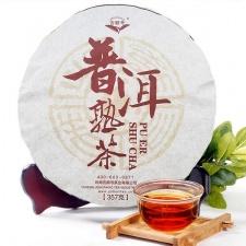 Ripe Pu-Erh (JiShunHao Classic: NING / 2013 m.) arbata (357 g.)