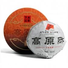 Raw Pu-Erh (GAO YUAN CHEN / 2014 m.) arbata (100 g.)
