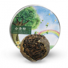 Ripe Pu-Erh (Mandarine / 2016 m.) arbata (85 g.)
