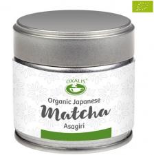 Matcha ASAGIRI (Eko) žaliosios arbatos milteliai (30 g.)