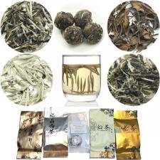 BALTOSIOS arbatos rinkinys (5 vnt.)