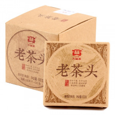 Ripe Pu-Erh (Menghai Classic: LAO CHA TOU / 2014 m.) arbata (100 g.)