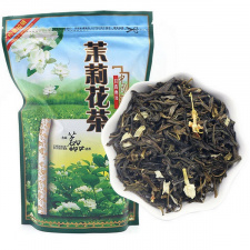 HUANG SHAN MAO FENG žalioji arbata su JAZMINŲ ŽIEDAIS (250 g.)