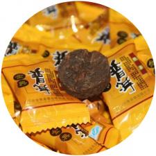 Ripe Pu-Erh (su LIPNIAIS RYŽIAIS / 2009 m.) arbata (30/50/100 g.)