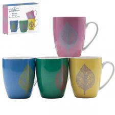 Porcelianinių puodelių rinkinys (4 vnt.)