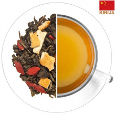 GUNPOWDER žalioji arbata su GOJI uogomis ir ŽENŠENIU (30/50/100 g.)