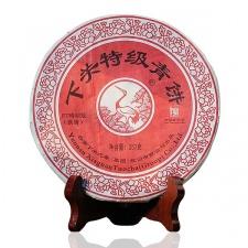 Raw Pu-Erh (Xiaguan Classic: CHI TSE BEENG CHA / 2003 m.) arbata (357 g.)