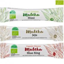 MATCHA žaliosios arbatos miltelių rinkinys (3 vnt.)
