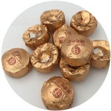 Ripe Pu-Erh (su APELSINO ŽIEVELE / 2012 m.) arbata (30/50/100 g.)