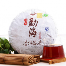 Ripe Pu-Erh (JiShunHao Classic: DAN QING / 2013 m.) arbata (357 g.)