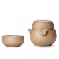 Keramikinis Gaivanis ir 2 pialos (180 ml)