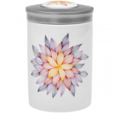 Porcelianinis arbatos indas su dangteliu (1 vnt.)