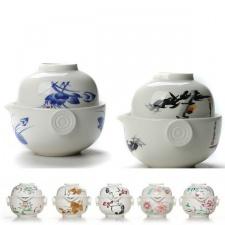 Keramikinis Gaivanis su piala (200 ml)