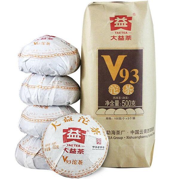 Ripe Pu-Erh (Menghai Classic: V93 / 2018 m.) arbata (100 g.)