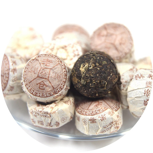 Ripe Pu-Erh (su LIPNIAIS RYŽIAIS / 2015 m.) arbata (30/50/100 g.)