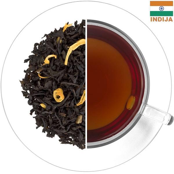 ASSAM GINGIA juodoji arbata CINAMONAS - APELSINAS (30/50/100 g.)