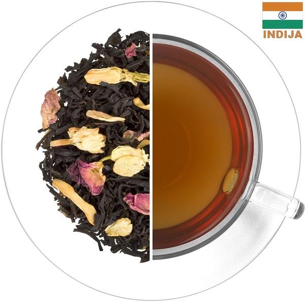 ASSAM BORPATRA juodoji arbata VYŠNIOS - APELSINAS (30/50/100 g.)