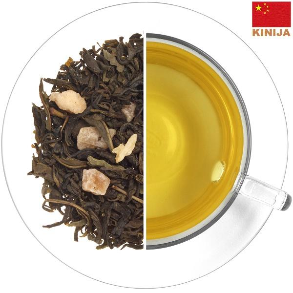MAO FENG žalioji arbata MANGO - JAZMINAS (30/50/100 g.)