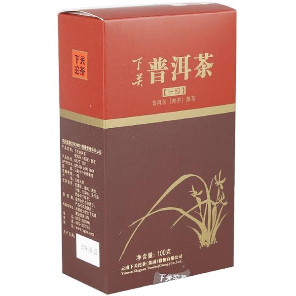 Ripe Pu-Erh (Xiaguan Classic: GOLD GUI / 2016 m.) arbata (100 g.)
