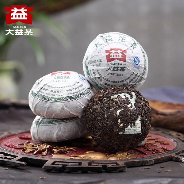 Raw Pu-Erh (Menghai Classic: DAYI / 2010, 2011, 2012 m.) arbata (100 g.)