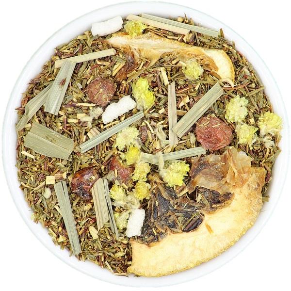 ROOIBOS arbata su CITRINOS GRIEŽINĖLIAIS (30/50/100 g.)
