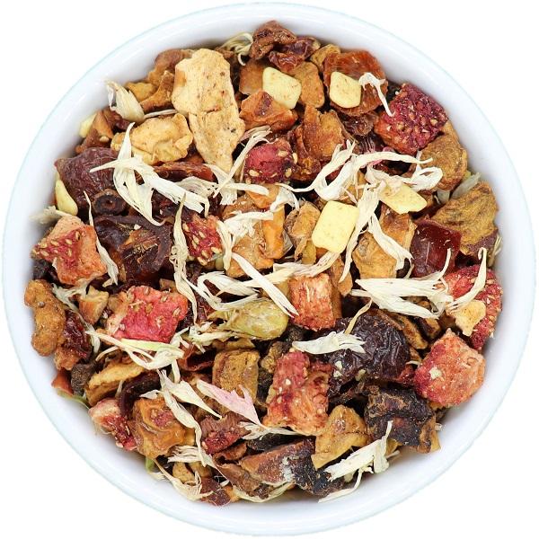 ŽEMUOGĖ - ŠOKOLADAS vaisinė arbata (30/50/100 g.)