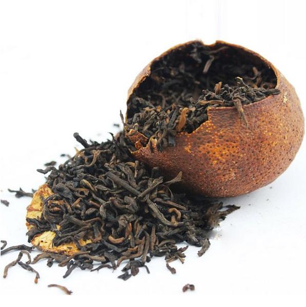 Ripe Pu-Erh (2005 m.) arbata MANDARINE (30/50/100 g.)
