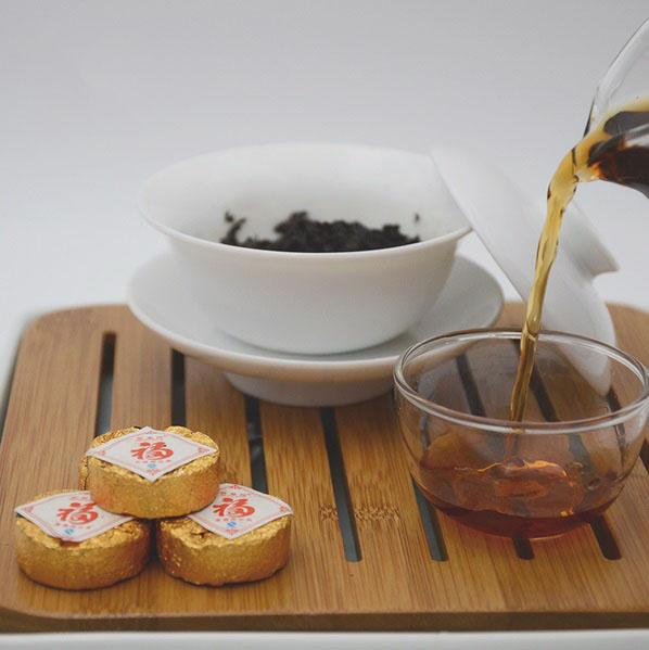 Ripe Pu-Erh (2012 m.) arbata (30/50/100 g.)
