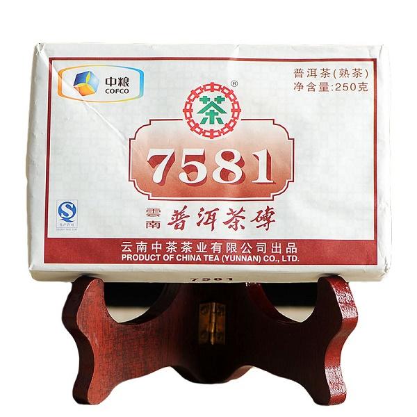 Ripe Pu-Erh (CNNP Classic: ZHONG CHA / 2017 m.) arbata (250 g.)