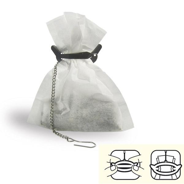 Arbatos maišelių spaustukas (1 vnt.)