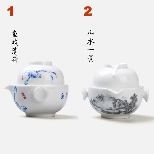 Keramikinis Gaivanis su piala (170 ml)