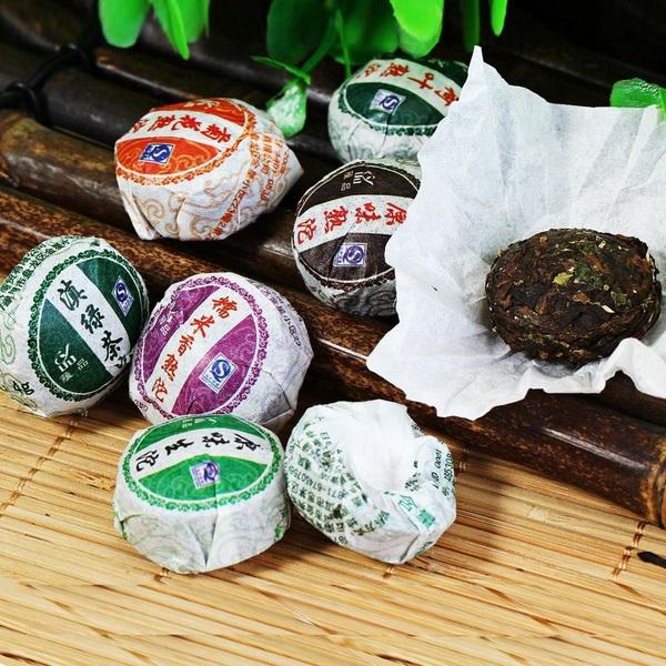 MINI TUO CHA Pu-Erh arbatos rinkinys (16 vnt.)