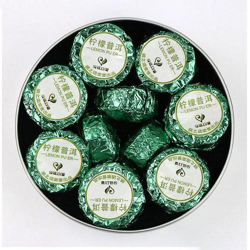 Ripe Pu-Erh (su CITRINOS ŽIEVELE / 2016 m.) arbata (100 g.)