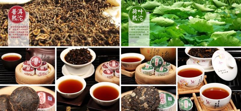 MINI TUO CHA Pu-Erh arbatos rinkinys (10/20/30/40/50 vnt.)