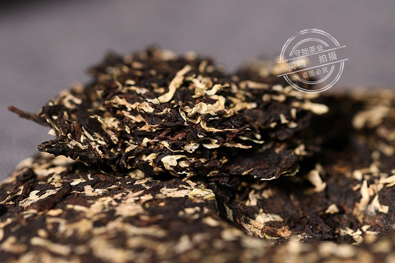 Ripe Pu-Erh (su CHRIZANTEMŲ ŽIEDAIS / 2015 m.) arbata (100 g.)