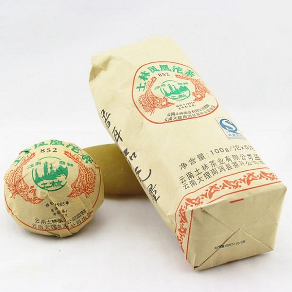 Raw Pu-Erh (Tu Lin Classic: PHOENIX 852 / 2007 m.) arbata (100 g.)