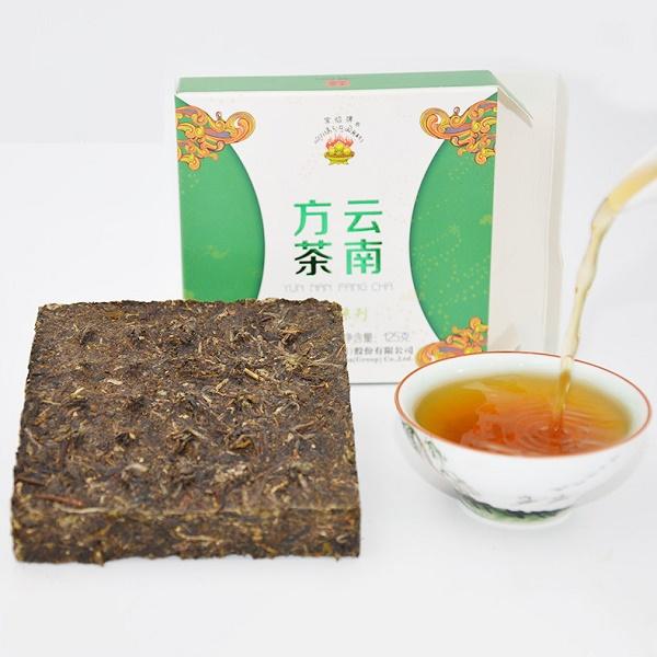 Raw Pu-Erh (Xiaguan Classic: BAO YAN / 2015 m.) arbata (125 g.)
