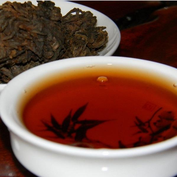 MENGHAI LAO CHA TOU Ripe Pu-Erh (2003 m.) arbata (30/50/100 g.)