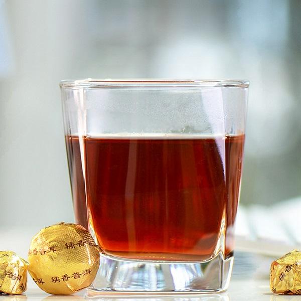 Ripe Pu-Erh (su LIPNIAIS RYŽIAIS / 2011 m.) arbata (30/50/100 g.)