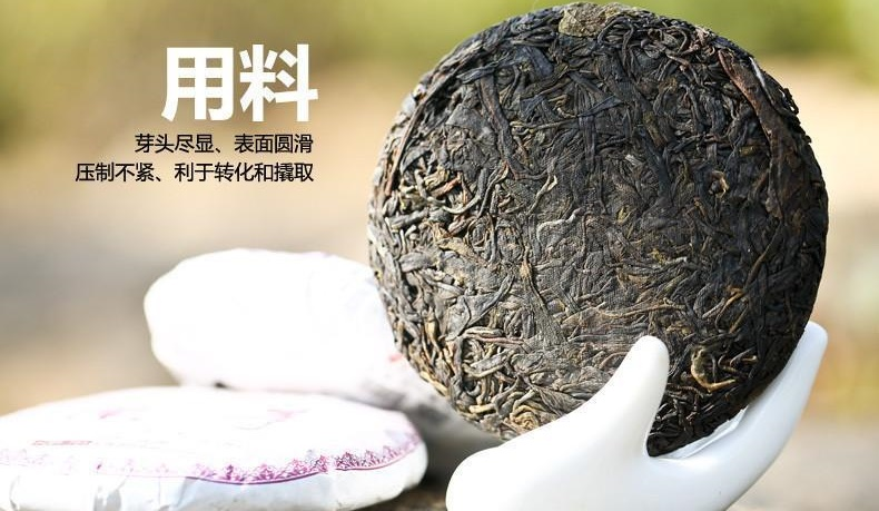 Purpurinė Pu-Erh (Caicheng Classic: PURPLE BUD / 2015 m.) arbata (100 g.)